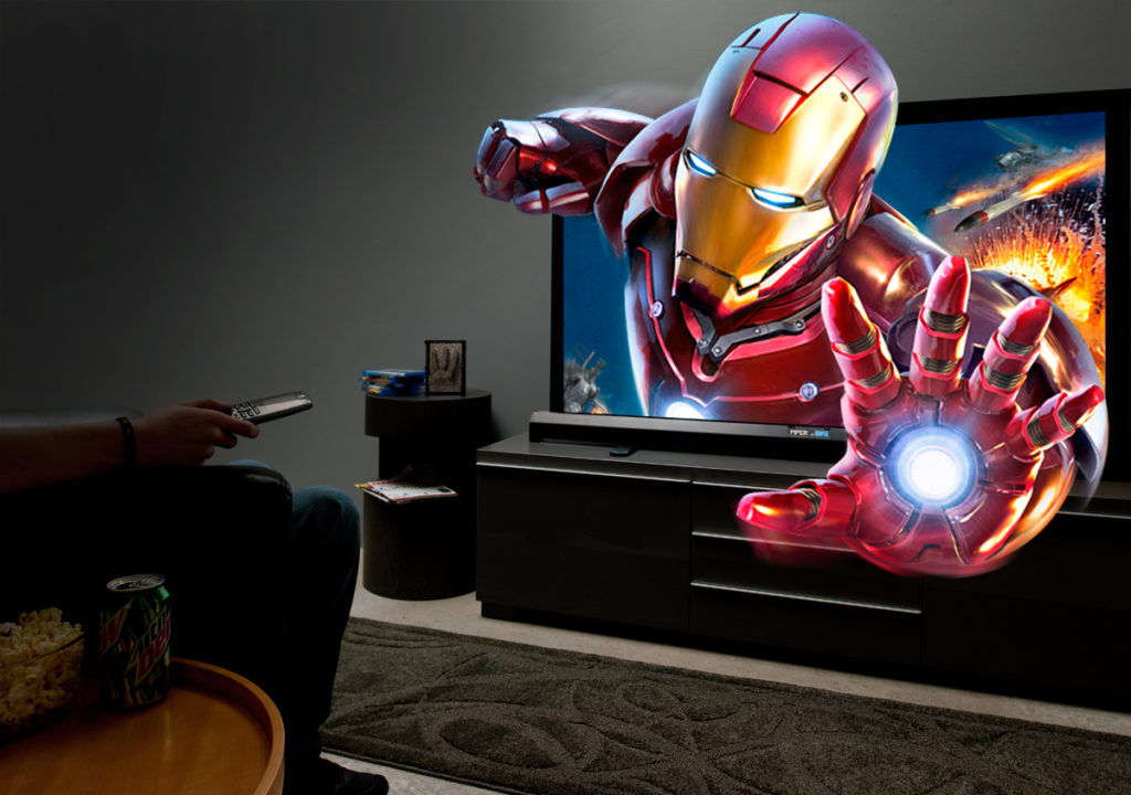 Now You Can Enjoy 3D Movies At Home Without Any Glasses